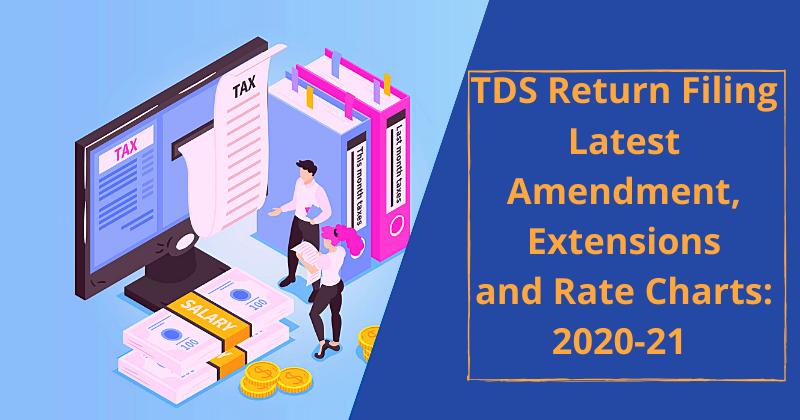 TDS Return Filing Latest Amendment