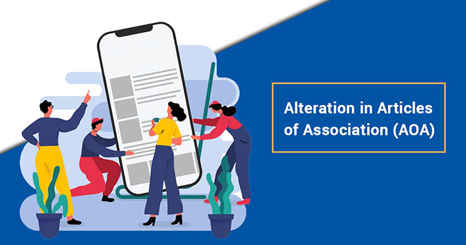 Alteration in Article of Association