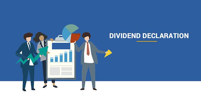 Dividend Declaration