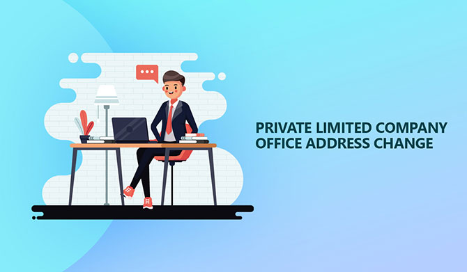 Change in Private Limited Company address