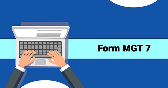Form MGT 7