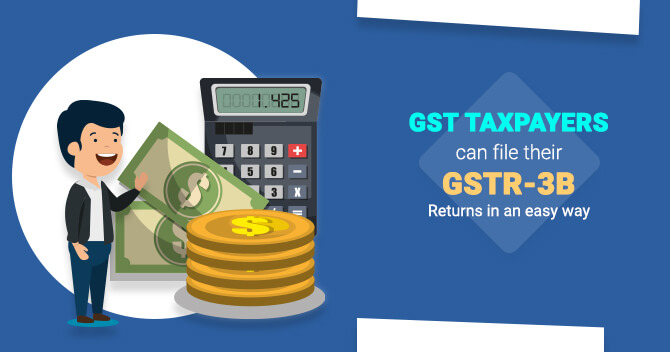 filing the GSTR-3B Returns