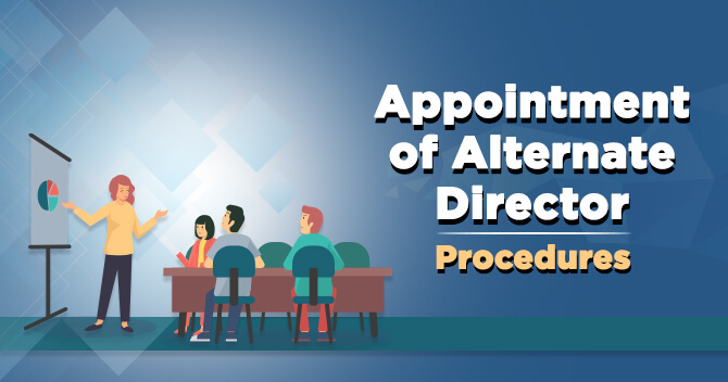Appointment of Alternate Director