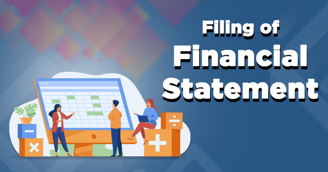 Filing of Financial Statement