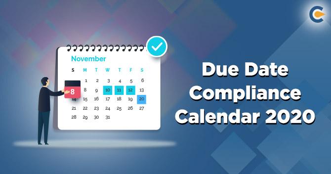 Compliance Calender