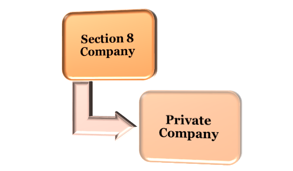Section 8 Company and a Private Company