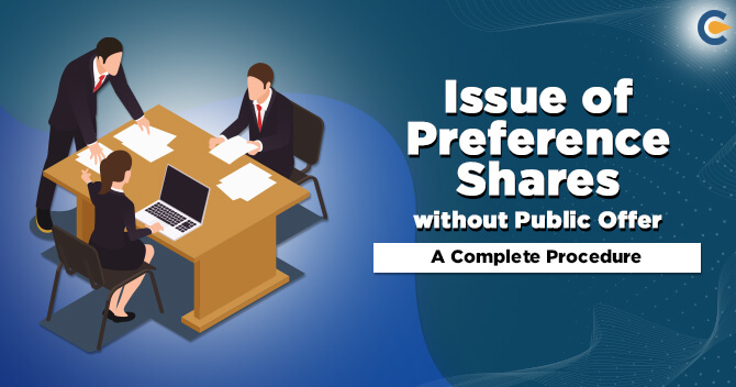 Issue of Preference Shares