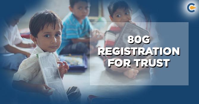 80g Registration for Trust