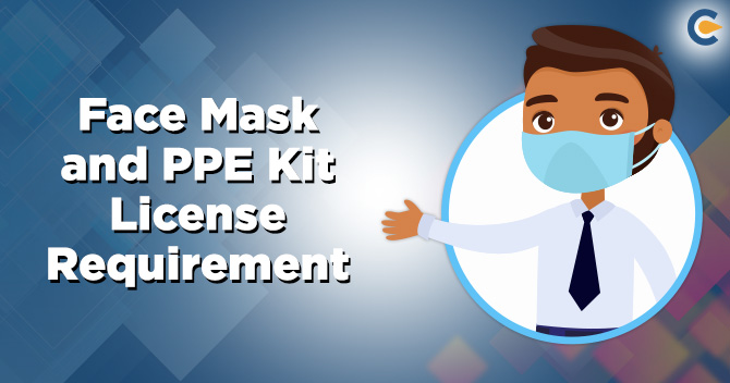 Face Mask and PPE kit license