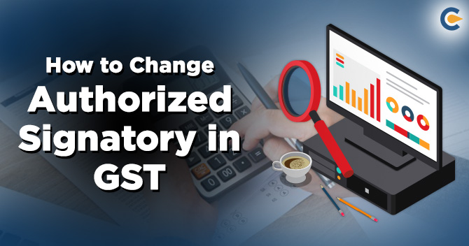 authorized signatory in GST