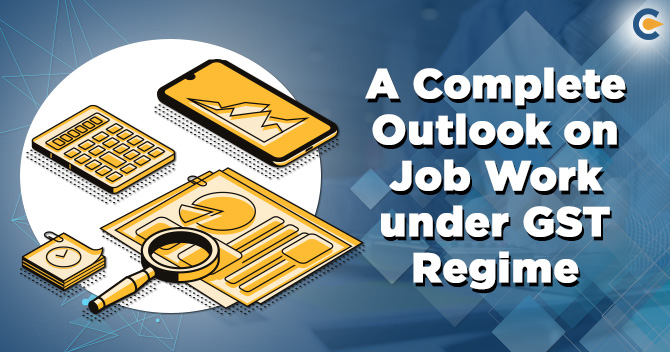 Job Work under GST