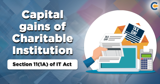Capital Gains of Charitable Institution
