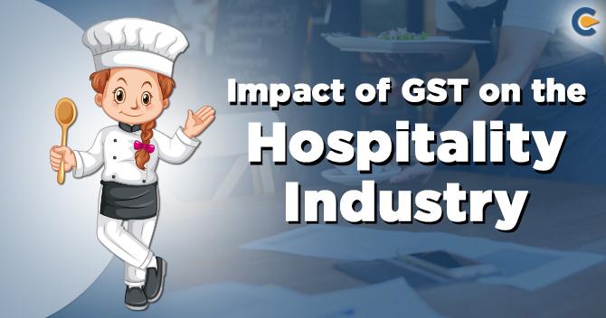 GST on the Hospitality