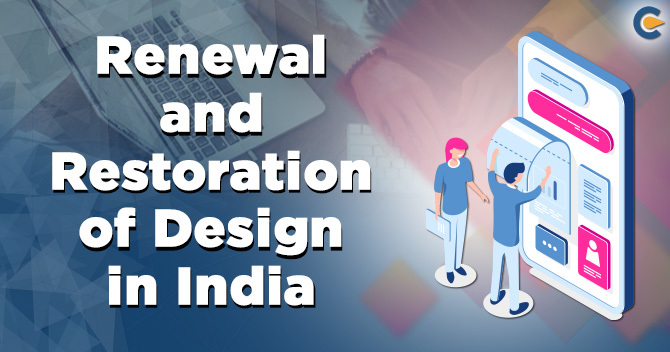 Renewal and Restoration of Design