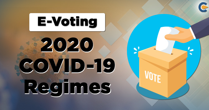 Voting by Electronic Means: 2020