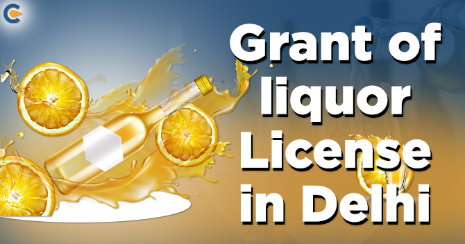 liquor license in Delhi