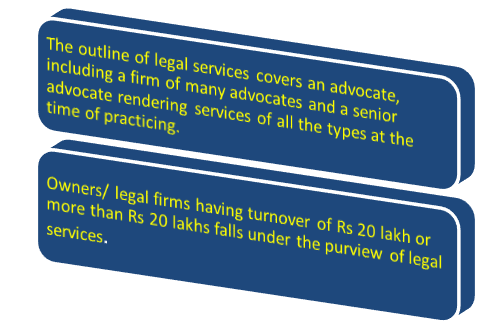 GST on Legal Services