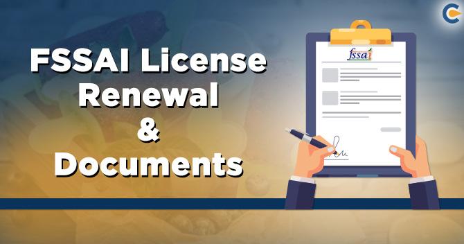 FSSAI Food License Renewal