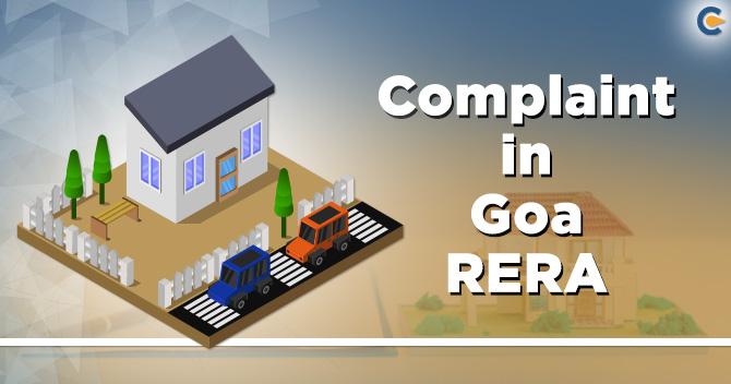 complaint in Goa RERA