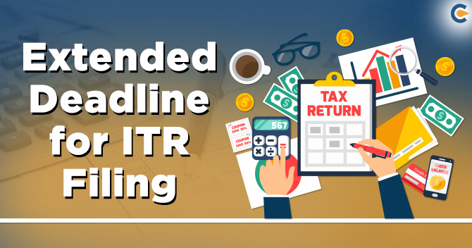 extended the Filing of ITR deadline till 30th September