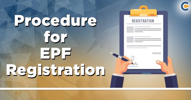 procedure for EPF registration