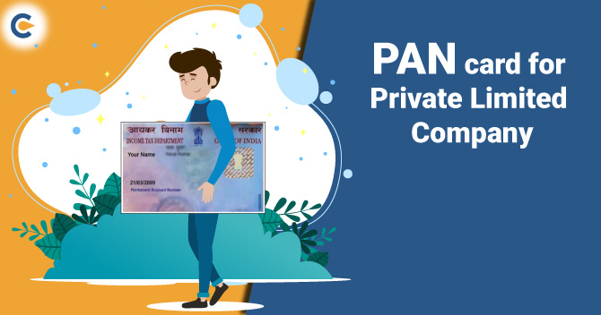 PAN card for Private Limited Company
