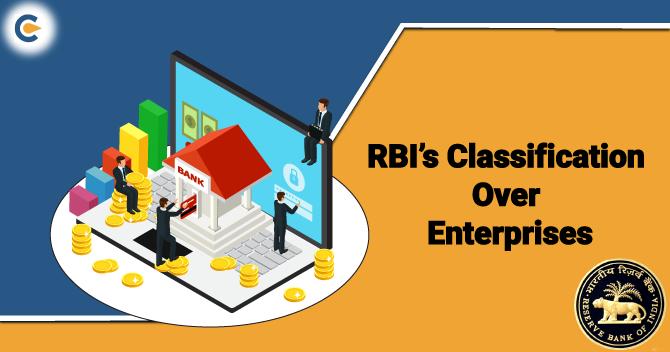 RBI Clarification over of Enterprises MSME