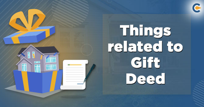 gift deed in India