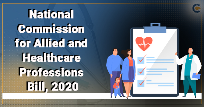 The National Commission for Allied and Healthcare Professions Bill, 2020