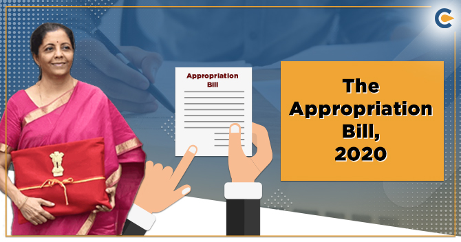 The Appropriation Bill, 2020