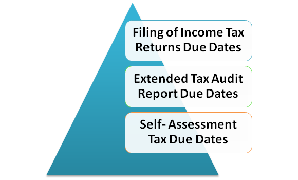 Tax Audit Report due Dates and Income Tax Returns Applicable for AY 2020-21