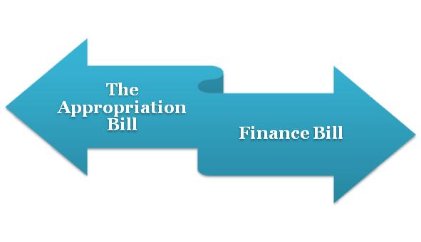 Appropriation Bill & Finance Bill