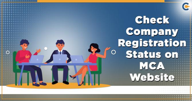 Company Registration status