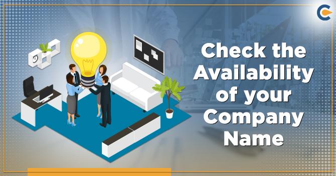 availability of company name