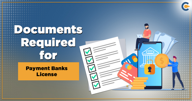 Payment Bank license documents