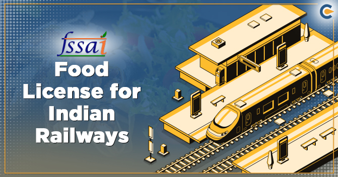 Food License for Indian Railways