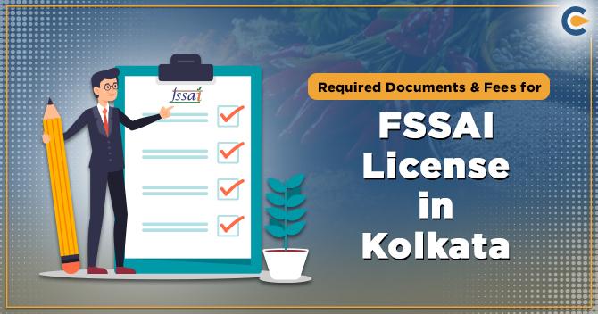 FSSAI License in Kolkata