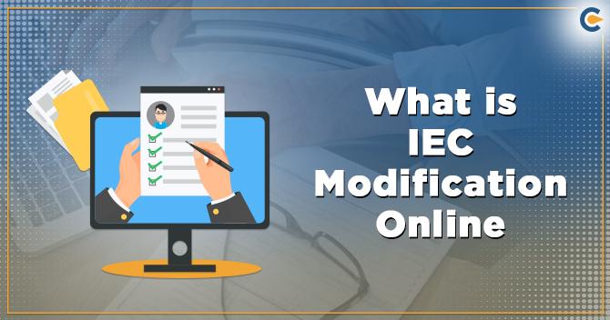 IEC modification