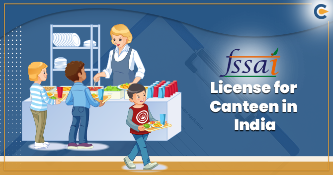 FSSAI License for Canteen in India