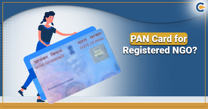 PAN Card for Registered NGO