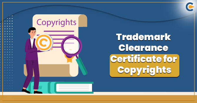 Trademark Clearance Certificate
