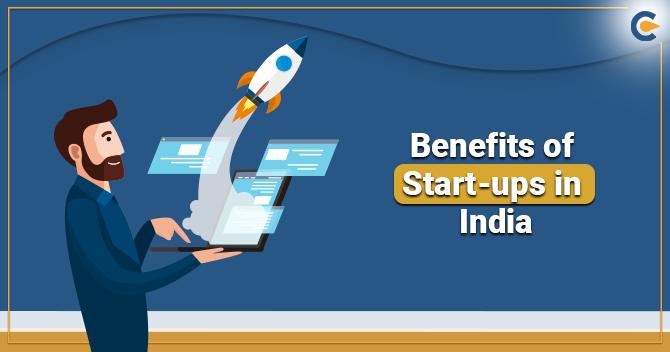 Benefits of Start-ups