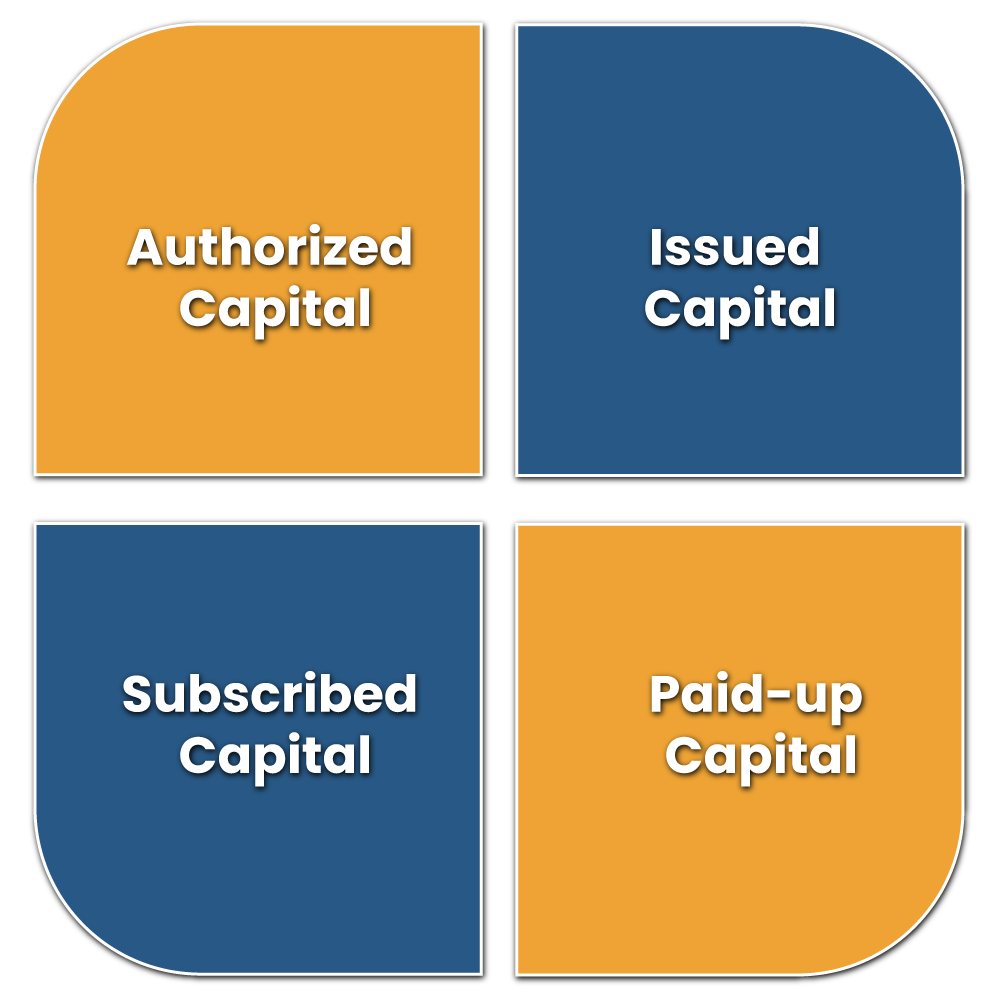 Classification of Capital of Registered Entities in India