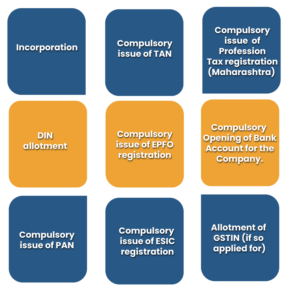 Procedural Instructions for Registering a New Company under Company Act, 2013