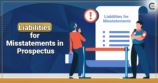 Liabilities Related to Misstatements in Prospectus
