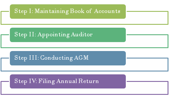 Steps in the Filing of Annual Return