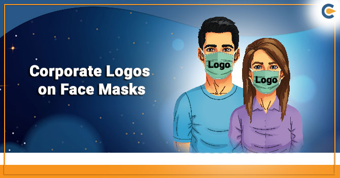 Corporate Logos on Face Masks