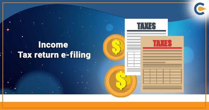 Income Tax return e-filing