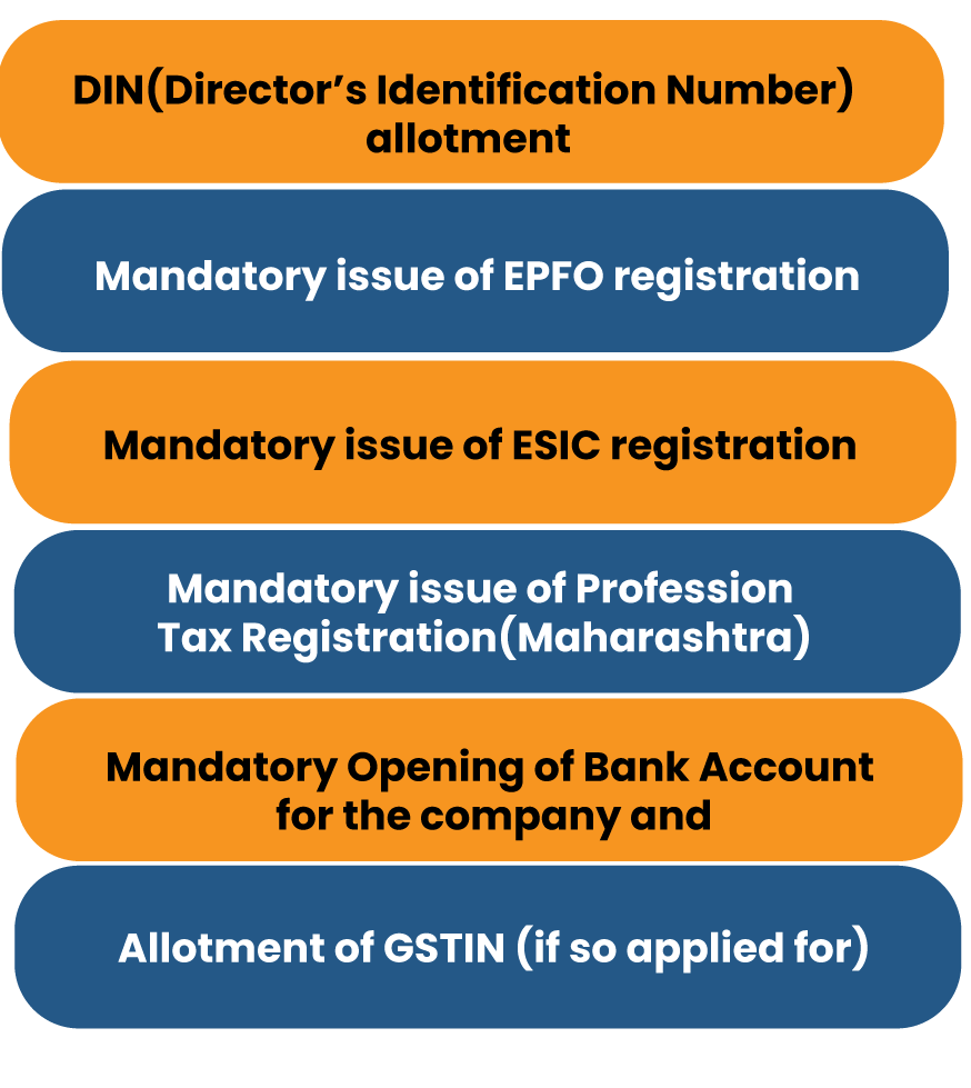 Process of the private company registration process