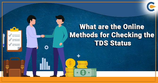What are the Online Methods for Checking the TDS Status
